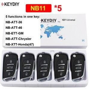 Image 1 - 5 יח\חבילה NB11 רב תפקודי 3 כפתור KD שלט רחוק עבור KD900 KD900 + URG200 KD X2 (כל פונקציות שבבי באחד מפתח)