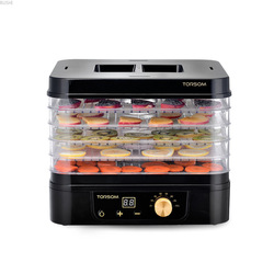 220V 5 Layers Food Dryer Household Dehydrated Vegetables Fruits Dried Meat Yoghurt Food Air Dryer Machine Dehydrator Fruit