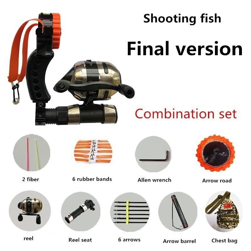 tiro de peixe arco seta conjunto completo 04