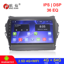 Android 9 Auto Radio Multimedia keine 2 din android Video Player Navigation GPS für Hundai IX45 Santa Fe 3 Grand 2013-2017 auto radio