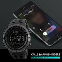 Moda męska damski taktyczny inteligentny zegarek Bluetooth sportowe cyfrowe zegarki na rękę wodoodporny wojskowy w Inteligentne zegarki od Elektronika użytkowa na