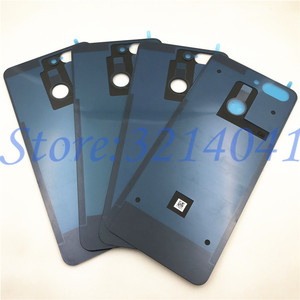 Image 2 - חדש זכוכית סוללה דלת אחורי כיסוי שיכון מקרה עבור ZTE להב V9 V0900 החלפת חלקים + דבק מדבקה