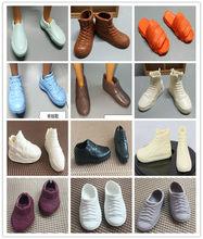 Ken príncipe original sapatos de boneca masculina, botas, sandálias, moda 1/6, boneca masculina, peças, boneca para crianças, acessórios de vestir, diy