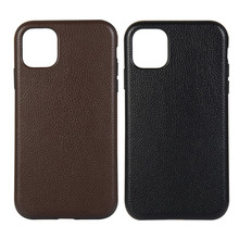 For iphone xs xr xsmax 8plus 6 6s 7 plus Case Litchi Leather Grained TPU Silicon Cover Cases New iPhone 11 Pro Max