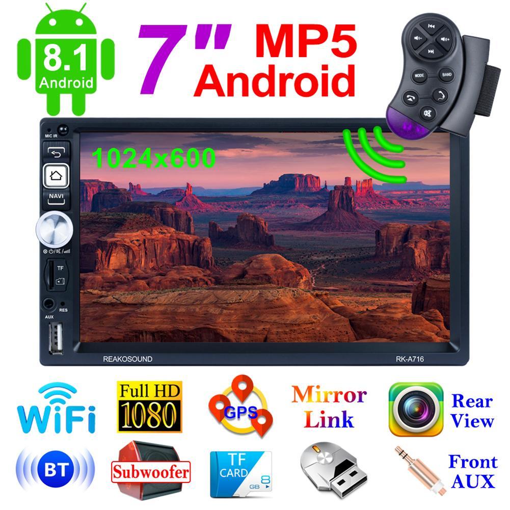 7 Inch Android Car Radio Stereo GPS Navigation Bluetooth USB Car Multimedia Player Audio Player Auto Radio Car GPS Navigation