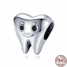 CODEDOG Подлинная фотография Серебряная милая фотография милая детская стоматологическая бижутерия C1401