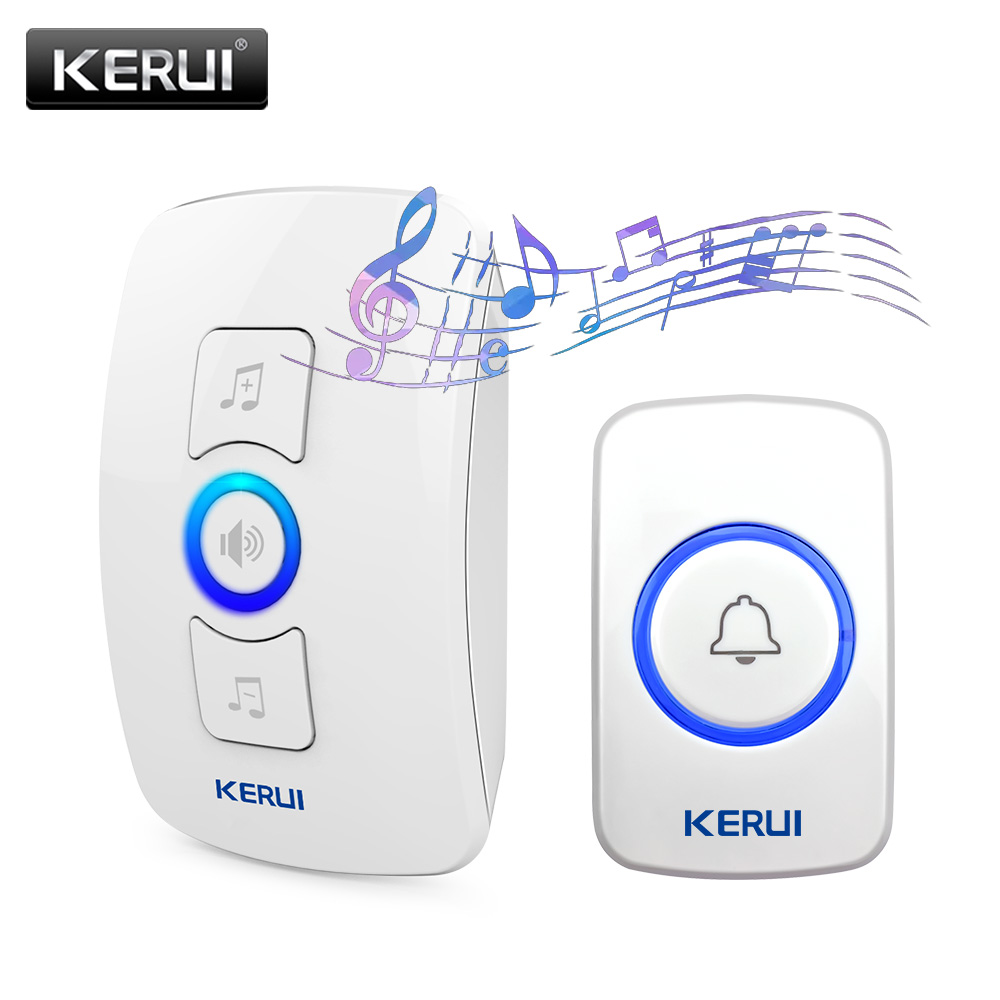 KERUI M525 Smart Türklingel Multifunktionale Drahtlose Türklingel mit 32 Songs Unterstützung Mehrere Türklingel Sender Willkommen Chime