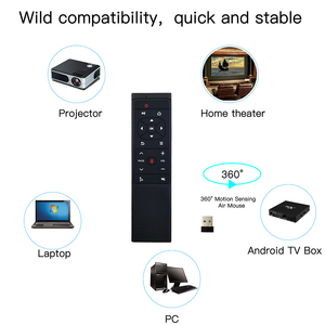 Image 5 - L8star 2.4G Air Mouse Remote control MT12 Voice Search Gyro Wireless IR Fly Aero Mouse For Android Linux TV Smart IPTV Box