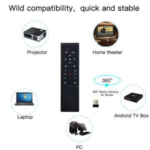 Image 5 - L8star 2.4G Air souris télécommande MT12 recherche vocale gyroscope sans fil IR mouche Aero souris pour Android Linux TV Smart IPTV Box