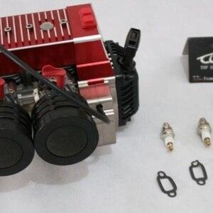 CNC Metal 58CC Engine Two Cyli