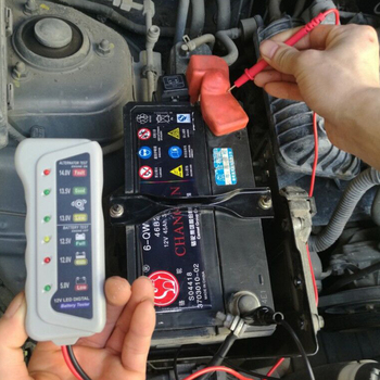 12V Car Battery Tester Battery Analyzer image