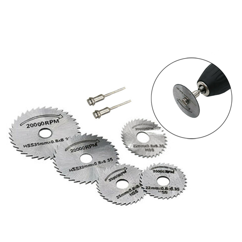 Circular Saw Disc Set Mini Drill For Rotary Tool Wood Cutting Blade Equipment