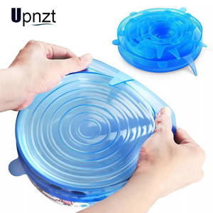 Airtight-Lid Kitchen-Accessories Food-Lids Silicone Pot Bowl Stretch Universal Reusable