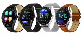 "IP68 Waterproof Smart Watch 1.3"" Full Touch Round Screen Heart Rate Sleep Monitor Sport Smartwatch Fitness Tracker"