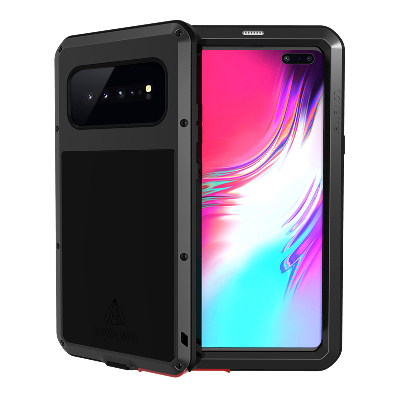 Shockproof Case For Samsung Galaxy S10 Plus Metal Fundas For Samsung S10 5G S10E Capa Armor Phone Cover S10 Plus Anti-Fall Coque