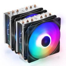 DEEPCOOL NEPTWIN V3 doble Torre enfriador de cpu 6 de tubería de calor Dual 120mm PWM Color fan TDP 220W para Intel 1150 1155 2011 AMD AM4 AM3