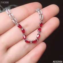 KJJEAXCMY fine jewelry 925 sterling silver inlaid natural ruby bracelet delicate female exquisite bracelet support testing kjjeaxcmy fine jewelry 925 sterling silver inlaid natural ruby female bracelet beautiful support detection