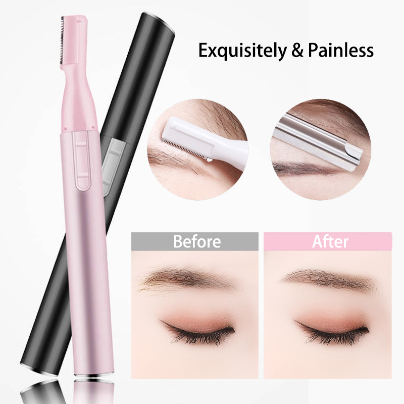 2020 Dermaplaning Electric Brow Shaping Trimmer Eyebrow Knife Women Beauty Tools Exquisitely & Quick & Painless Easy Shaving