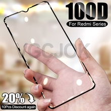 100D Safety Protective Glass For Xiaomi Redmi 7 7A 8 8A K20 K30 Pro Screen Protector On Redmi Note 7 8 Pro 8T Tempered Glas Film