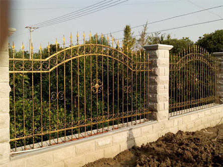 china wrought iron fence for sale