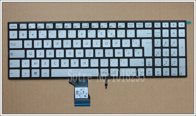 New FR backlit keyboard for ASUS UX52 UX52A N541 N541L N541LA Q501 Q501L Q501LA Q551 Q551L Q551LB Q551LN French Laptop keyboard