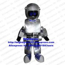 실버 로봇 Automaton 마스코트 의상 성인 만화 캐릭터 복장 연례 회의 사업-시작 행사 zx1946