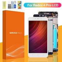 Pantalla Original para XIAOMI Redmi 4 Pro, montaje de digitalizador con pantalla táctil, repuesto para Xiaomi Redmi 4 pro LCD
