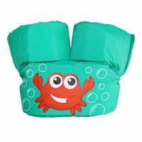 Flotador de espuma para bebé, manga de brazo de dibujos animados, traje de baño Jack-et, Entrenamiento de natación de seguridad, flotador de piscina, anillo de natación