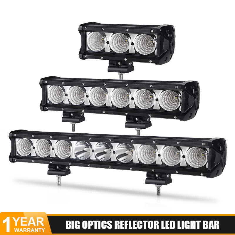 8'' 14'' 20'' 27'' 34'' 40 inch led light bar 60W 90W 120W 150W 180W work lights Car light led bar for jeep Off road 4x4 12V 24V