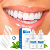 Efero dentes branqueamento essência higiene oral soro de limpeza remover manchas de placa dentes ferramentas de branqueamento dental cuidados dentífrico 1 pcs