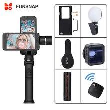 Funsnap Capture 3 Axis Handheld Smartphone Gimbal Gopro Stabilisator Voor Iphone Xs Max Xr Piexl Gopro 7 6 5 Y eken H9