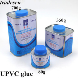 1 бутылка 80 г 350 г ПВХ клей UPVC водопровод клей жесткий ПВХ клей