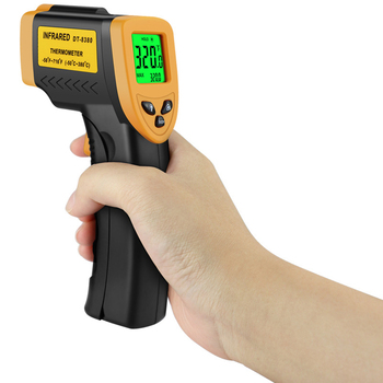 Infrared Thermometer Non-Contact Temperature Meter IR Pyrometer for Engine Car Model