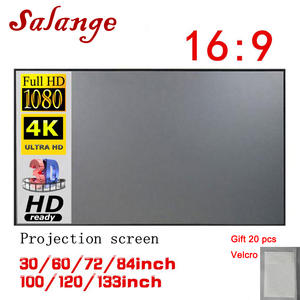Projector-Screen Beamer Reflective-Fabric-Cloth Salange Xiaomi Xgimi H3 Portable H2-Yg400