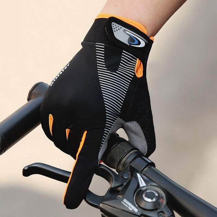Bike Bicycle Gloves Full Finger Touchscreen Men Women MTB Gloves Breathable Summer Mittens Anti-skid Sunscreen Gloves M L XL