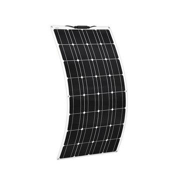 Boguang 2 pcs 100w semi flexible Solar Panel 200W placa solar Photovoltaic monoctrystalline 12v 24V battery/yacht/RV/car/boat RV 2