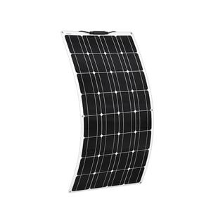 Image 2 - Boguang 2 stücke 100w semi flexible Solar Panel 200W placa solar Photovoltaik monoctrystalline 12v 24V batterie/yacht/RV/auto/boot RV