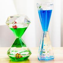 Acrylic Hourglass Sand Clock 5-30 Minutes Sand Clock Kids Toothbrush Timer Time Counter Classroom Game Timer Gift Home Decor
