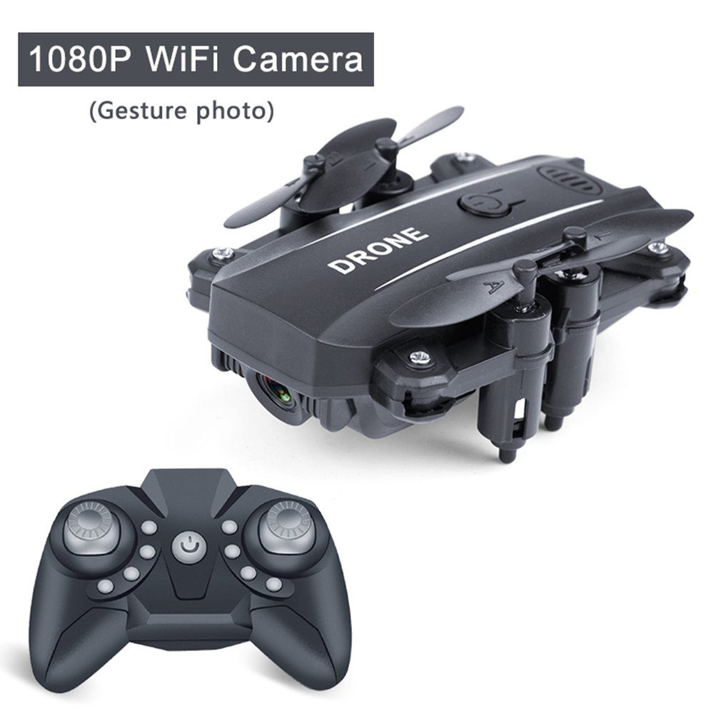 Mini Folding Drone Aerial Photography Wifi Four-Axis Aircraft Remote Control Helicopter Cross-Border Toys