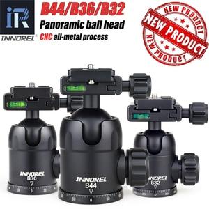 Image 1 - Trépied pour appareil photo B32/B36/B44, rotule pour photographie panoramique, haute qualité, 50mm/60mm, plaque à dégagement rapide, arca swiss