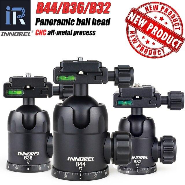 Trépied pour appareil photo B32/B36/B44, rotule pour photographie panoramique, haute qualité, 50mm/60mm, plaque à dégagement rapide, arca swiss