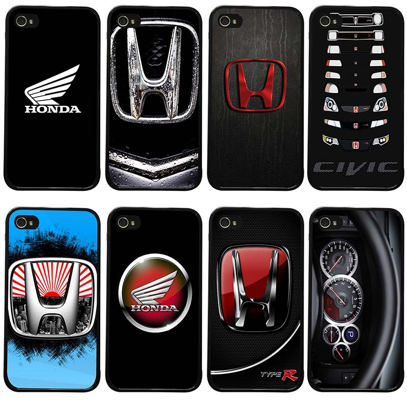 Honda H Wing Logo Cell Phone Cases Hard Plastic Phone Cover Protect for iphone 8 7 6 6S Plus X XR XS 11 Pro Max 5S 5 SE 4 4S Bag image