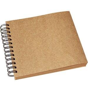 98 страниц фотоальбомы скрапбук фотоальбом Скрапбукинг Фотоальбом крафт бумага фотоальбомы память фотоальбомы