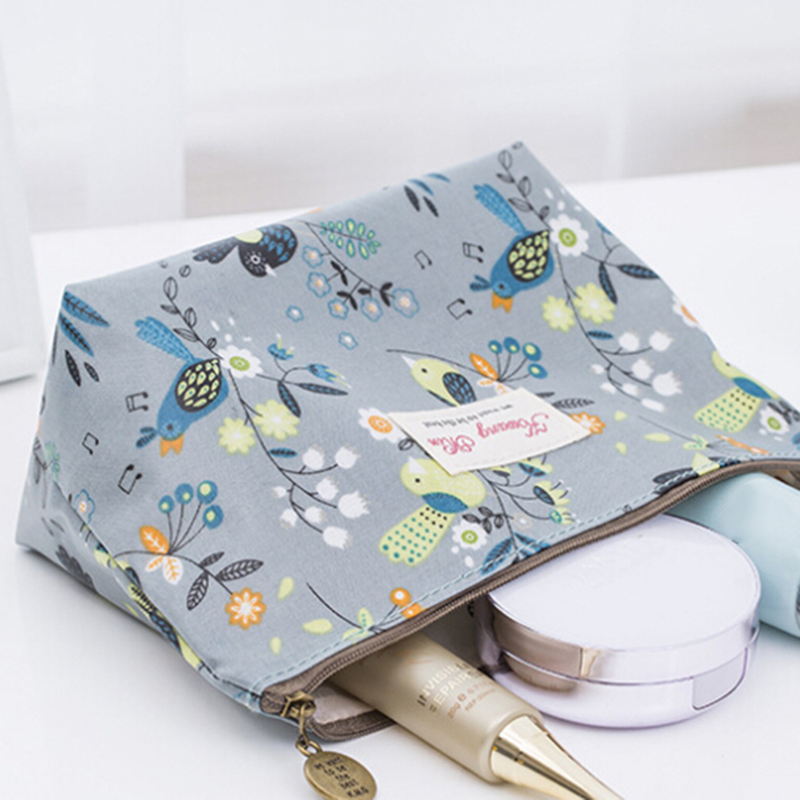 Women Toiletry Multifunction Travel Cosmetic Bag Waterproof Make Up Case Female Wash Organizer Storage Zipper Pouch Makeup Bag