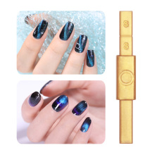 Gold Magnetic Stick Multi-function Magnet Nails Stick for Soak Off Magnetic UV Gel Nail Polish 12 Styles Nail Art Tools