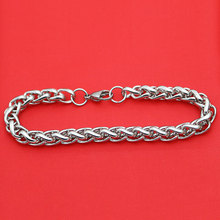 316L Stainless Steel Bracelet 3mm 4mm 5mm 6mm 7mm Lanterns Necklace For Women Men Girl Boy