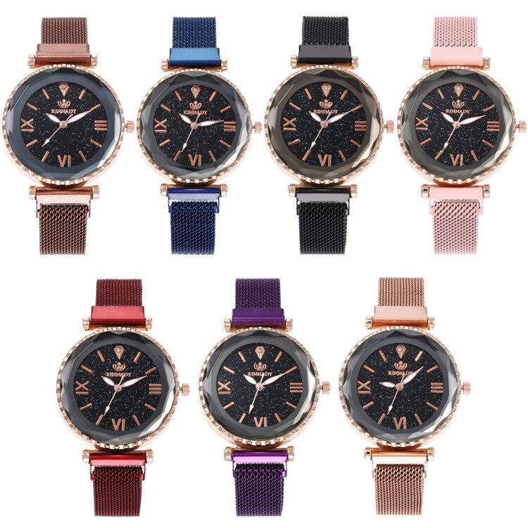 Milan Fashion Belt Series Bracelet Watch Multicolor Fine Surface With Butterfly Ribbon Watch Joker Lady Wrist Watch