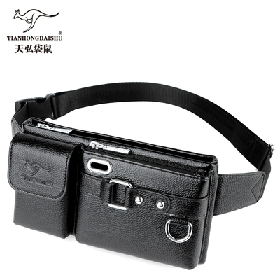 Tianhongdaishu New Single Shoulder Multi-function Large Capacity Men And Women Waist Pack Men's Chest Bag Casual Messenger Bags