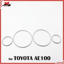 Rings Cluster-Gauge Dash-Board AE101 Toyota for 3sets Ae100/Ae101/Silver 1993/1997