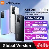 【World Premiere】Global Version Xiaomi 11T Pro Smartphone 128/256GB Snapdragon 888 Octa Core 120W HyperCharge 108MP Camera 120Hz 1